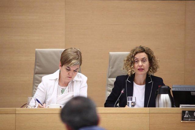 Meritxell Batet comparece en la Comisión de Política Territorial del Congreso