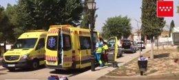 Atracador muere autolesionado en Torres de la Alameda