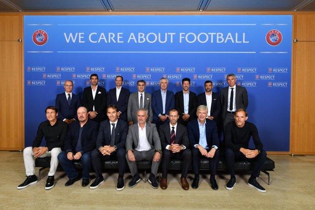 Reunión de entrenadores de la UEFA
