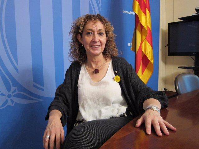 La consellera de Justicia Ester Capella