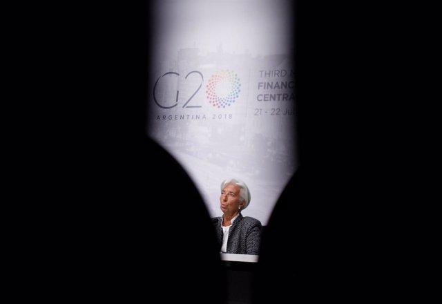 Christine Lagarde en Buenos Aires
