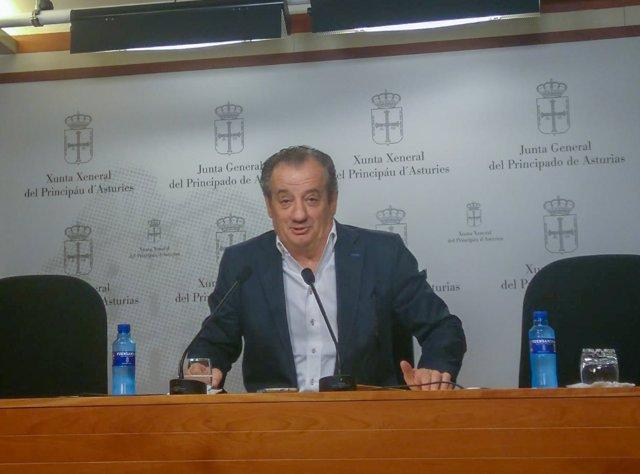 Nicanor García, portavoz de Ciudadanos en la Junta