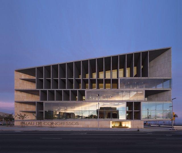 El Palacio de Congresos de Palma, donde se celebrará el congreso de la SEFH