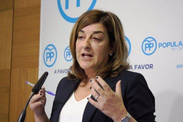 María José Saénz de Buruaga, presidenta del PP