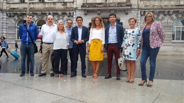Pedro Casares se presenta a ser candidato a la Alcaldía de Santander por el PSOE