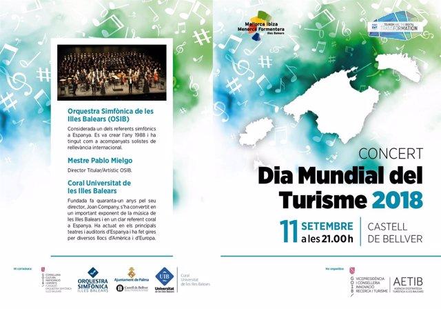 Cartel Día Mundial del Turismo 2018