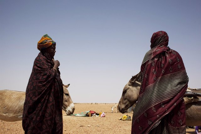 Mujeres en Mauritania