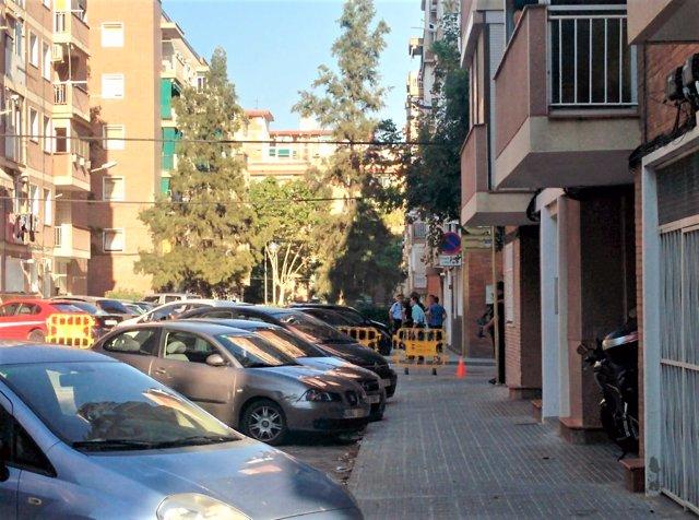 Registro del piso del atacante de una comisaría en Cornellà de Llobregat