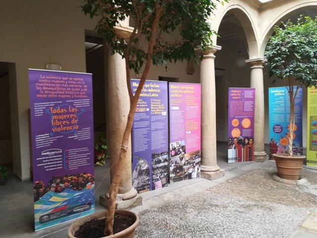 Exposición 'Todas las mujeres libres de violencia' en la sede baezana de la UNIA