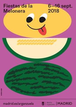 Cartel Fiestas de la Melonera