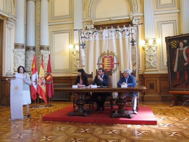 Lectura del fallo del jurado del 65 Premio Ateneo de Valladolid de Novela