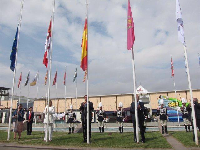 Inauguración de la Feria de Muestras de Valladolid