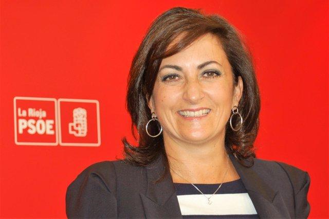 La portavoz del PSOE Concha Andreu