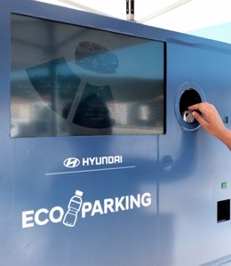 """""""Eco Parking"""" Permite Pagar El Aparcamiento Reciclando"""