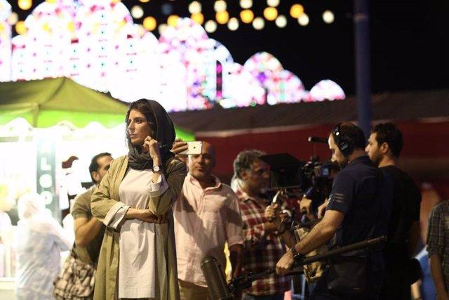 Rodaje de una película iraní en Algeciras