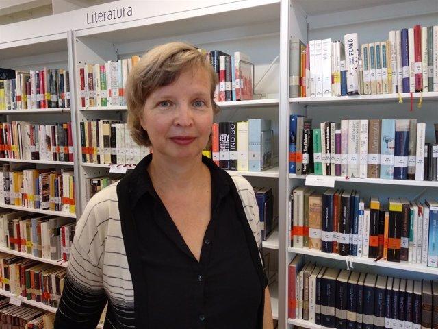 La escritora Jenny Erpenbeck