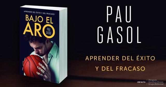 Pau Gasol presenta su libro 'Bajo el aro'