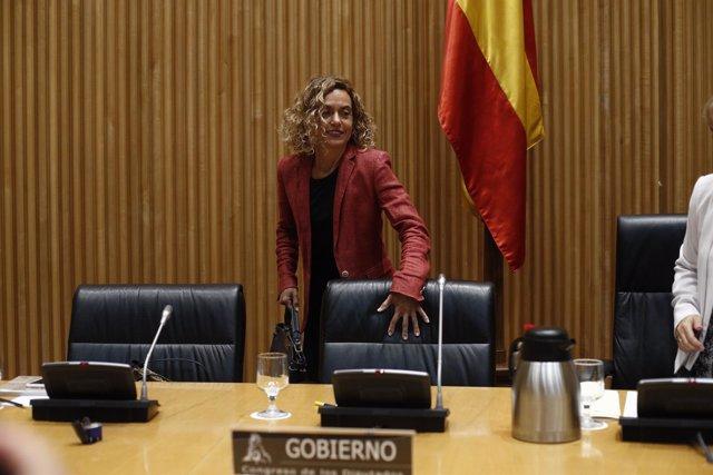 Comparecencia de la ministra de Política Territorial y Función Pública, Meritxel