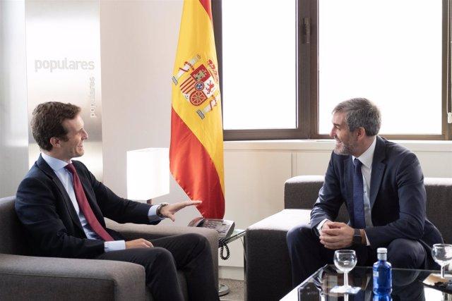 """[Grupocanarias] [Medios Todos Pres] Clavijo: """"El Conflicto De Cataluña No Puede"""