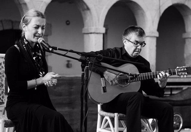 Actuación en Encuentros Flamencos