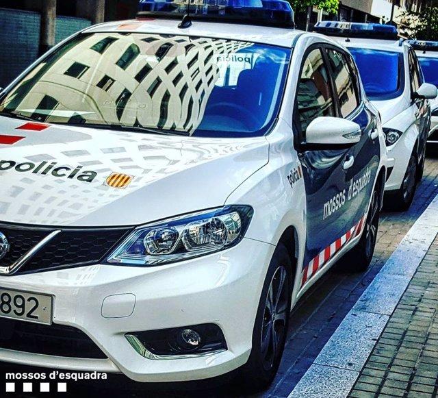 Mossos d'Esquadra coche patrulla