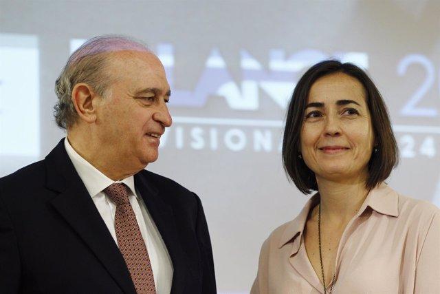 María Seguí y Jorge Fernández Díaz
