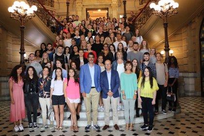 Goia recibe a 142 alumnos extranjeros que estudiarán en la Universidad de Deusto en San Sebastián este curso