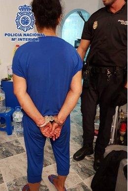 Detenida por supuestamente apuñalar a su nuera en Benalmádena