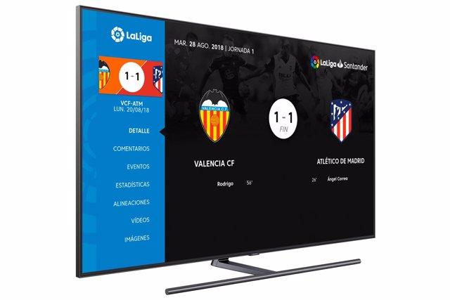 Aplicación de Samsung para Smart TV
