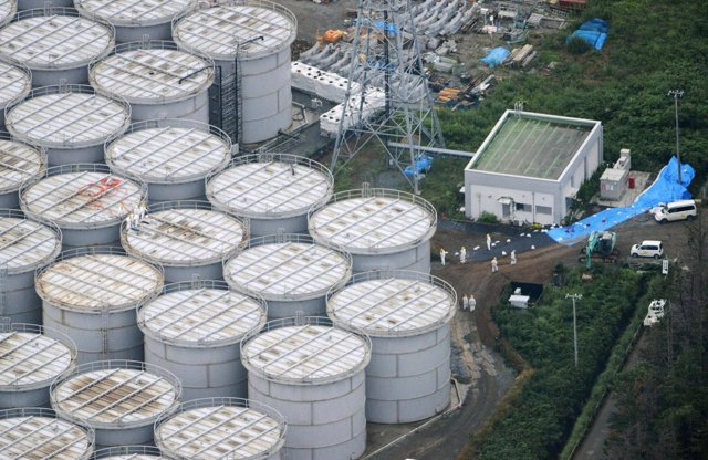 Planta nuclear de Fukushima Daiichi en Fukushima, Japón