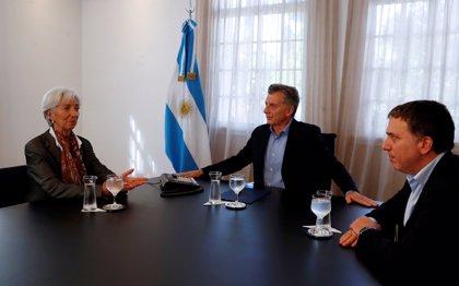 """La directora del FMI asegura que se han logrado """"avances"""" con Argentina y que las conversaciones pasan a """"nivel técnico"""""""