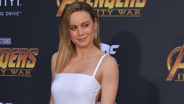Brie Larson en la premiere de Vengadores: Infinity War