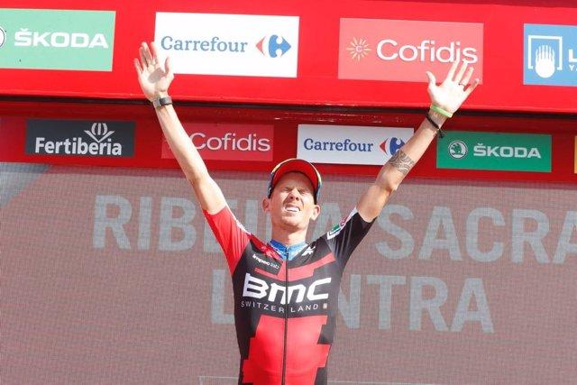 El ciclista italiano Alessandro De Marchi