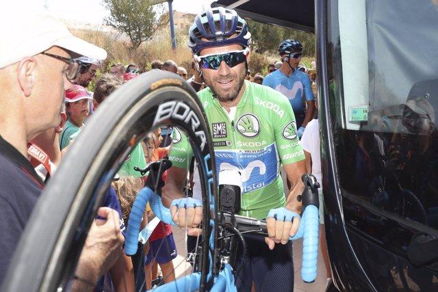 Alejandro Valverde en la Vuelta a España