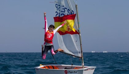 La española Maria Perelló revalida el título de campeona del mundo de Optimist