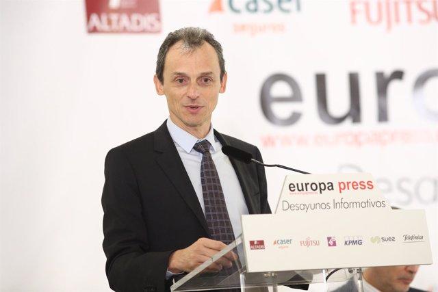 Desayuno Informativo de Europa Press con Pedro Duque