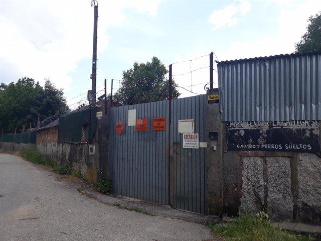 Empresa pirotécnica La Gallega, en Tui