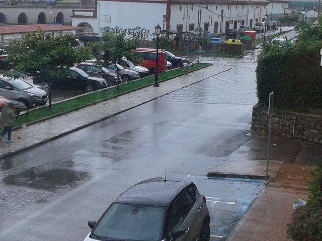 Inundaciones en San Vicente de la Barquera