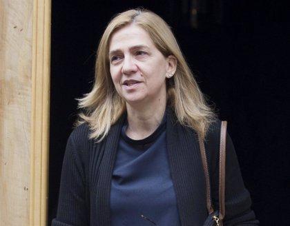 La infanta Cristina recupera 322.000 euros de la fianza del caso Nóos
