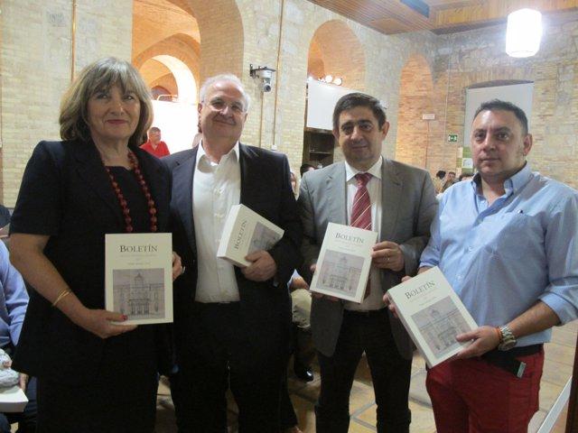 Presentación del Boletín del IEG dedicado a Vicente Oya