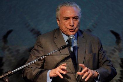 La Policía de Brasil pide que se presenten cargos contra Temer por corrupción