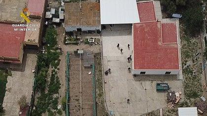 Incautados 6.120 kilos de hachís a una red de narcotraficantes que secuestró y torturó a un joven por un alijo