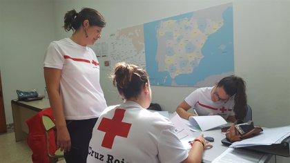 El centro de acogida temporal de Mérida recibe este jueves a 83 nuevos migrantes