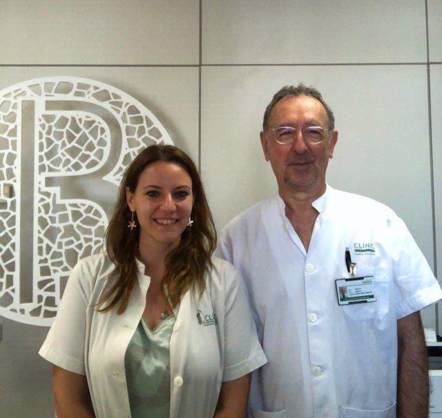 Los investigadores del CIBERSAM Miquel Bernardo y Sílvia Amoretti