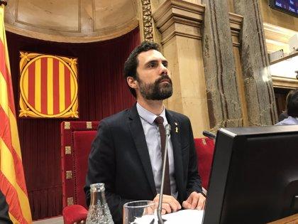 """Torrent defiende los plenos del 6 y 7 de septiembre de 2017: """"Blindamos la democracia"""""""