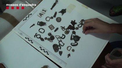 Tres detenidos por expoliar yacimientos arqueológicos en Barcelona y Tarragona