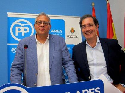 """El PP de Valladolid pide anular el convenio de """"túneles y pasarelas"""" y se copie el modelo de soterramiento de Murcia"""