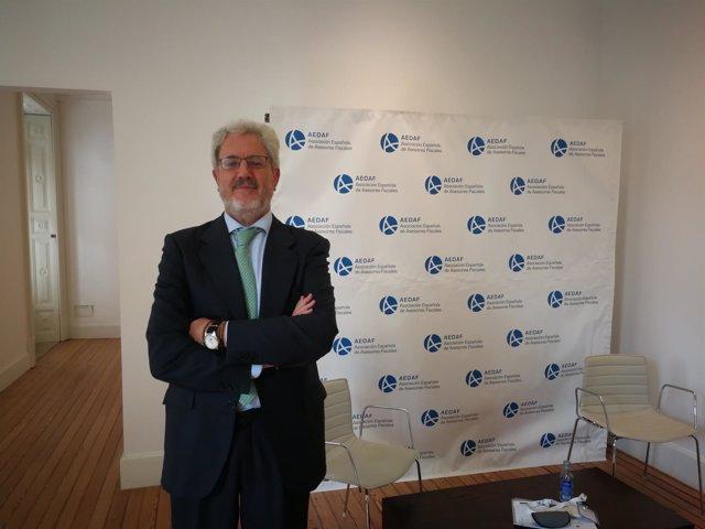 El presidente de la Aedaf, José Ignacio Alemany Bellido