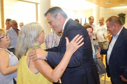 Conesa anuncia una modificación del trazado del Corredor Mediterráneo en Totana para minimizar el impacto sobre vecinos