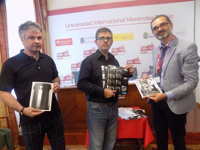 Javier E Iñaki Rodriguez Con Gerente UIMP
